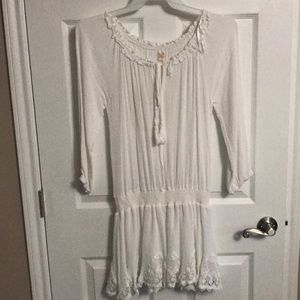 Surf Gypsy swimsuit cover up size large